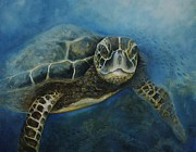 Key West Paintings - Where You Want to Get To by Christine  Fifer