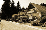 Trip To The Past Digital Art Prints - Whidbey West Side Print by Barry Jones