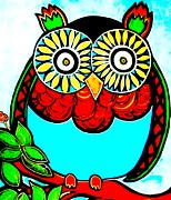 Amy Carruth-Drum - Whimsical Owl
