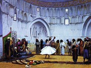 Persia Paintings - Whirling Dervishes by Pg Reproductions