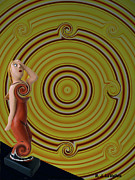 Whirlpool Confusion  Print by Roland LaVallee