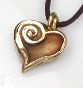 Lovers Jewelry - Whirlwind Love Pendant by Esprit Mystique
