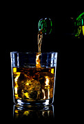 Thirst Posters - Whiskey being poured Poster by Richard Thomas