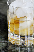 Shot Glass Prints - Whiskey Print by Photo Researchers