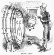 1876 Photo Prints - Whiskey Ring Cartoon, 1876 Print by Granger