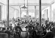 1876 Art - Whiskey Ring Trial, 1876 by Granger