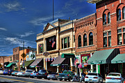 Prescott Prints - Whiskey Row - Prescott  Print by Saija  Lehtonen