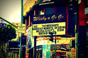 Whisky Framed Prints - Whisky a Go Go Bar on Sunset Boulevard Framed Print by Susanne Van Hulst