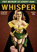 Magazine Cover Digital Art - Whisper Magazine March 1940 Cover by Szandor Schuurman