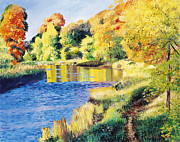 Choice Paintings - Whispering River by David Lloyd Glover