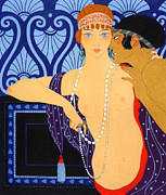 Couple Paintings - Whispers ART DECO by Stefan Kuhn