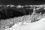 Whistler Photos - Whistler mountain winter scenery by Pierre Leclerc