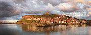 Whitby Framed Prints - Whitby Harbour Framed Print by Martin Williams