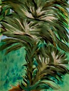 Pods Originals - White Bird of Paradise Tree by Marie Bulger