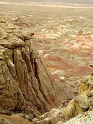 Chanting Prints - White Cliffs of Gobi Desert Print by Diane Height