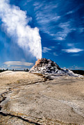 Geyser Prints - White Dome Print by Robert Bales