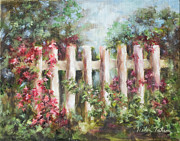 Helen Originals - White Fence by Helen Tatum