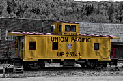 Rail Digital Art - White Haven - Union Pacific by Bill Cannon