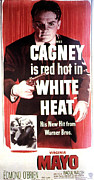 1940s Poster Art Framed Prints - White Heat, James Cagney, Virginia Framed Print by Everett