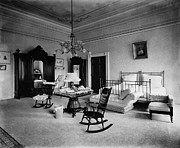 Bureau Prints - WHITE HOUSE: BEDROOM, c1900 Print by Granger