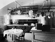 1901 Prints - White House Kitchen, 1901 Print by Granger