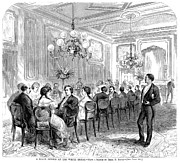 Servant Prints - White House: State Dinner Print by Granger