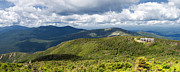 Greenleaf Posters - White Mountains New Hampshire Panorama Poster by Stephanie McDowell