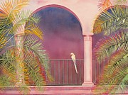 Mexico Originals - White Parrot by Robert Hooper