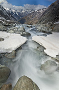 New River Valley Prints - White River Rapids Arthurs Pass Np Print by Colin Monteath