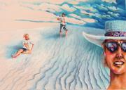 Sureal Originals - White Sands Family by Linda Shackelford