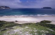 San Miguel Photos - White Sands Of Culyer Beach And Prince by Rich Reid