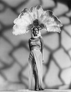Showgirl Photo Prints - White Savage, Maria Montez Print by Everett
