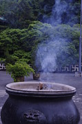 Annoying Photo Posters - White smoke in Zen  Poster by Cheung  KING MAN