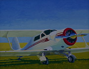 Golden Age Of Flight Posters - White Stagg Poster by Ron Smothers