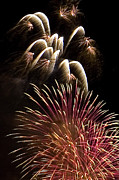 4th July Photo Prints - White Trails Print by David Patterson
