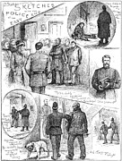 Arrest Prints - Whitechapel Murders, 1888 Print by Granger