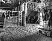 Old West Prints - Whitehorse Ranch 3 Print by Ron Schwager