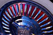 Hubcap Art - Whitewall Roulette by Richard Henne