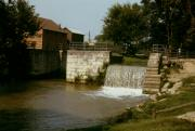 Metamora Indiana Metal Prints - Whitewater Canal Locks Metamora Indiana Metal Print by Gary Wonning