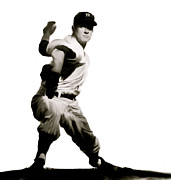 Yankee Legend Posters - Whitey Ford  Crafty  Poster by Iconic Images Art Gallery David Pucciarelli