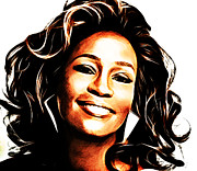 Rnb Art - Whitney Houston by The DigArtisT