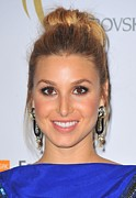 Hair Bun Framed Prints - Whitney Port At Arrivals For The 2nd Framed Print by Everett