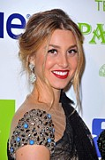 Dangly Earrings Framed Prints - Whitney Port At Arrivals For Vh1 Divas Framed Print by Everett
