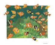 Clown Fish Originals - Who Are All These Clowns by Dee Van Houten