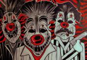 Ottoniel Lima Prints - Who r these Clowns..... Print by Ottoniel Lima