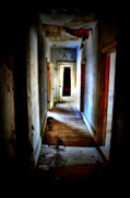 Abandoned Houses Prints - Who Walked the Halls Print by Emily Stauring