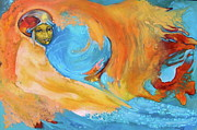 Visionary Artist Painting Prints - Wholesness Navigator Print by Sue  Hoya Sellars