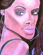 Rihanna Pastels - Whos that lady by Cynthia Walker-Wiggins