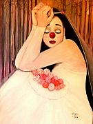 Why Is The Bride Crying Print by Patricia Velasquez de Mera