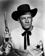 Mccrea Prints - Wichita, Joel Mccrea, 1955 Print by Everett